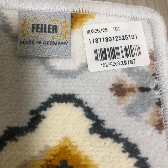 FEILER(フェイラー)のフェイラーハンカチ 新品未使用 レディースのファッション小物(ハンカチ)の商品写真