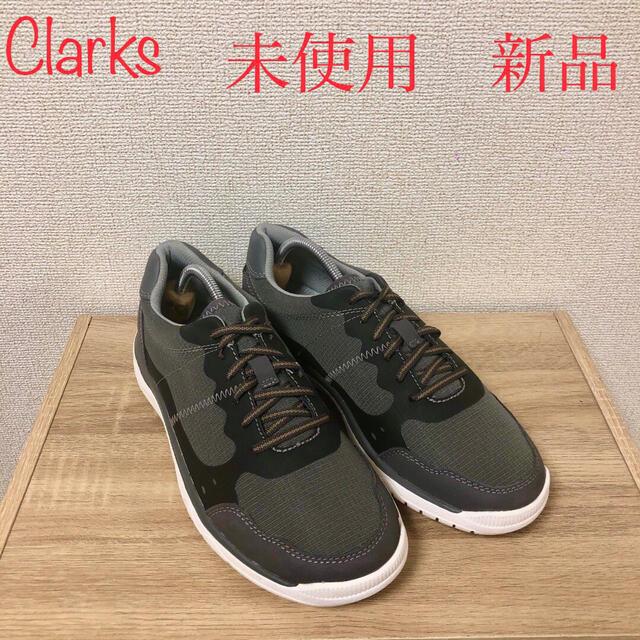 Clarks(クラークス)のClarks クラークス 25.5 メンズ 未使用 新品 メンズの靴/シューズ(スニーカー)の商品写真
