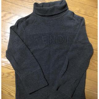 フェンディ(FENDI)の【美品】FENDI ニット タートルネック(ニット/セーター)