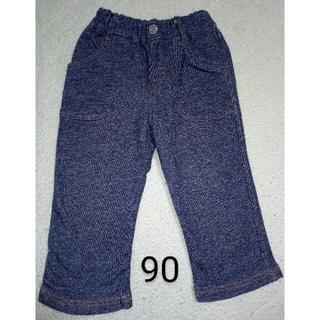 サンカンシオン(3can4on)の3can4on サンカンシオン デニム デニム風 パンツ 90(パンツ/スパッツ)