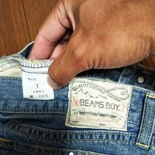 ビームスボーイ(BEAMS BOY)のBEAMS BOY ウォッシュ加工 デニムスカート(ひざ丈スカート)