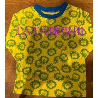 ビッツ(Bit'z)のライオン柄 ロングTシャツ(Tシャツ/カットソー)