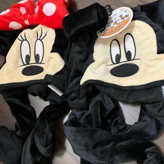 スリーコインズ(3COINS)のミッキー ミニー パタパタ帽子(キャラクターグッズ)