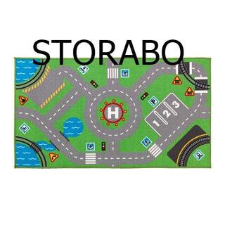 イケア(IKEA)の[地域限定] IKEA STORABO ラグ, グリーン プレイマット(その他)