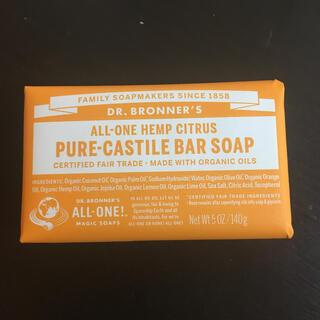 ドクターブロナー(Dr.Bronner)のオーガニック バーソープ(ボディソープ/石鹸)