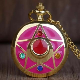 セーラームーン - ♥ゆめ可愛い♥セーラームーン クリスタルブローチ コンパクト 懐中時計