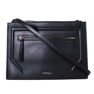 Furla - 美品 フルラ アリーチェ レザー 斜め掛け ショルダー バッグ ポシェット