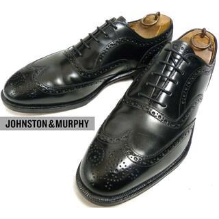 ジョンストン&マーフィーウィングチップシューズ 27-27.5cm
