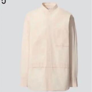 Jil Sander - UNIQLO ユニクロ ジルサンダー +J シャツ オーバーサイズシャツ
