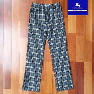 バーバリーブルーレーベル(BURBERRY BLUE LABEL)のBurberry パンツ ストレート 36サイズ(カジュアルパンツ)