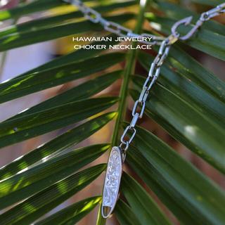 choker necklace (シルバー)(ネックレス)