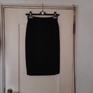 シャネル(CHANEL)の【kiana様専用】★シャネル★ウールスカートとサテンラインスカート2枚(ひざ丈スカート)