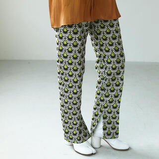 TODAYFUL - 即購入可能 Jacquard Slit Trousers サイズ 38