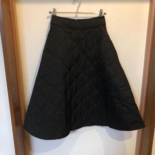メリージェニー(merry jenny)の【新品】キルティングスカート メリージェニー ブラック(ロングスカート)