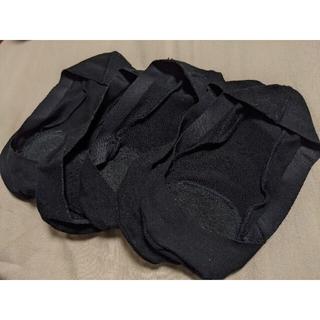 MUJI (無印良品) - 無印良品 MUJI 浅履きフットカバー 黒