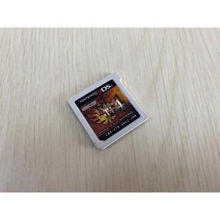 ニンテンドー3DS(ニンテンドー3DS)の美品♫3DSモンスターハンター4ソフト♫(家庭用ゲームソフト)