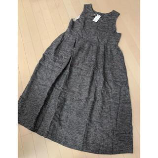 スタディオクリップ(STUDIO CLIP)の新品タグ付き ジャンパースカート(ひざ丈ワンピース)