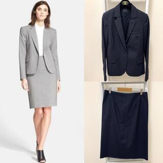 セオリー(theory)の定価約73000円 セオリー ジャケット スカート  セットアップ スーツ 0(スーツ)