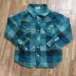 エフオーキッズ(F.O.KIDS)のF.O.KIDS!チェックシャツ 上着!100cm(ジャケット/上着)
