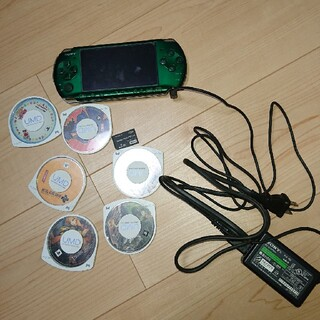 PlayStation Portable - psp 3000 本体 他セット 一応ジャンク品