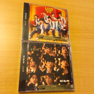 キスマイフットツー(Kis-My-Ft2)のLOVE ラブ キスマイ CD DVD 初回AB(ポップス/ロック(邦楽))