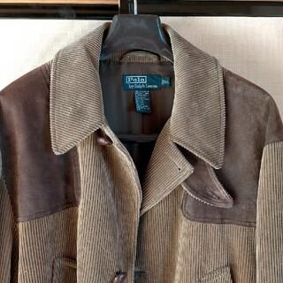 POLO RALPH LAUREN - アメリカ土産のレア品☆ ポロラルフローレン コーデュロイのコート