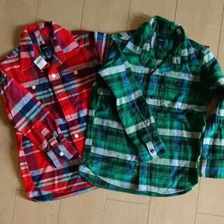 GAP Kids - 新品 * GAP KIDS チェックシャツ 120