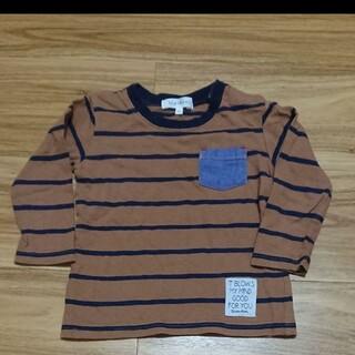 サンカンシオン(3can4on)のサイズ90 長袖T(Tシャツ/カットソー)