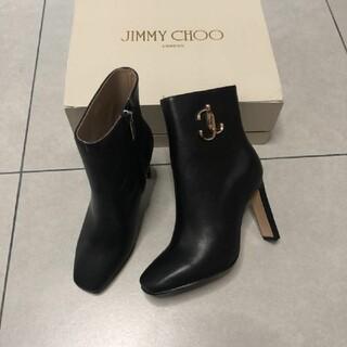 JIMMY CHOO - ジミーチュウ ハイヒール ショートブーツ