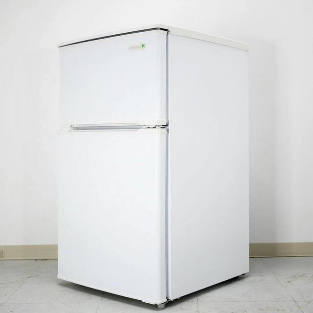 中古 冷蔵庫 小型 一人暮らし ハーブリラックス スマホ/家電/カメラの生活家電(冷蔵庫)の商品写真