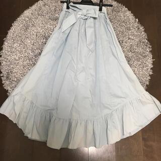 31 Sons de mode - トランテアン ソンドゥモード ロングスカート 水色 サイズ36