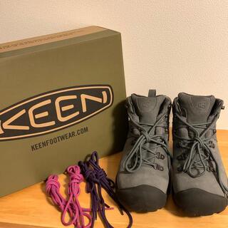 KEEN - KEEN PYRENEES キーンピレニーズ ハイキングシューズ グレー