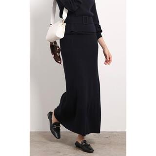 ロペ(ROPE)のマーメードニットスカート ROPE 定価14300円(ロングスカート)