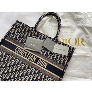 Christian Dior - ディオールブックトートラージネイビーDior Book tote large