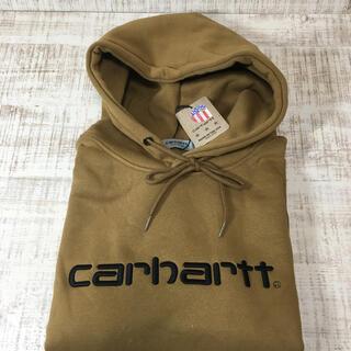 カーハート(carhartt)のカーハート  パーカー ブラウン CARHARTT Mサイズ(パーカー)