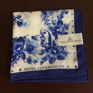 ロイヤルコペンハーゲン(ROYAL COPENHAGEN)のロイヤルコペンハーゲン ハンカチ 新品未使用(ハンカチ)