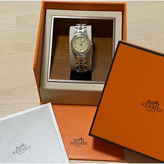 Hermes - ☆超美品☆ エルメス HERMES クリッパー レディース 時計 腕時計 稼働中