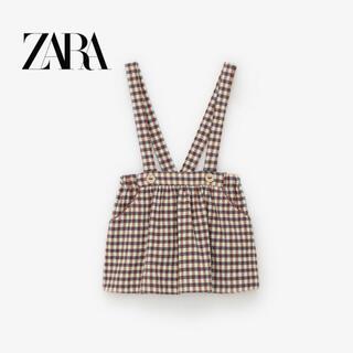 ZARA KIDS - ZARA baby ストラップ付きスカート