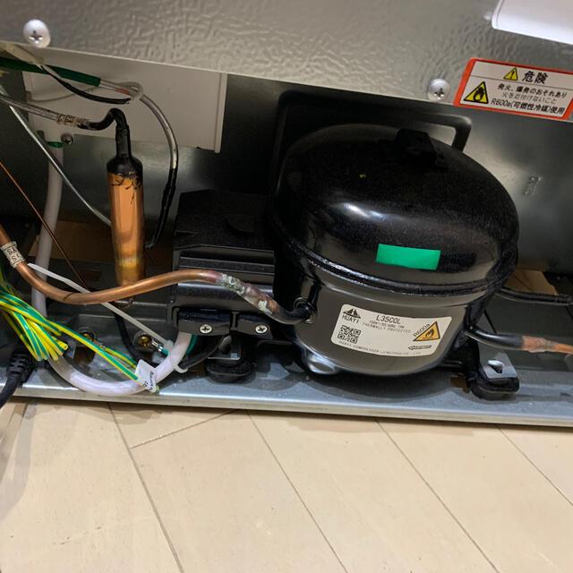 Haier(ハイアール)のSimplus 1 ドア冷凍庫 32L 美品 ホワイト スマホ/家電/カメラの生活家電(冷蔵庫)の商品写真