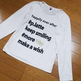ピンクラテ(PINK-latte)のピンクラテ ロンT 長袖 Tシャツ カットソー(XS)(Tシャツ(長袖/七分))
