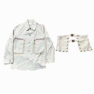 プラダ(PRADA)の2000s Unknown ivory technical jacket(ミリタリージャケット)