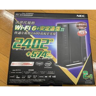 エヌイーシー(NEC)のAterm WX3000HP wifi6対応(PC周辺機器)