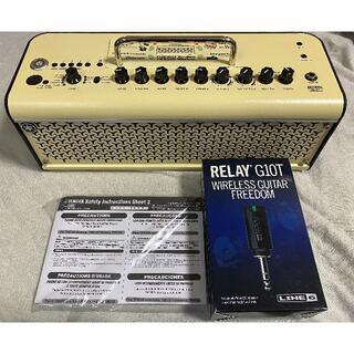 ヤマハ(ヤマハ)の美品 YAMAHA THR30II Wireless+LINE6 G10T(ギターアンプ)