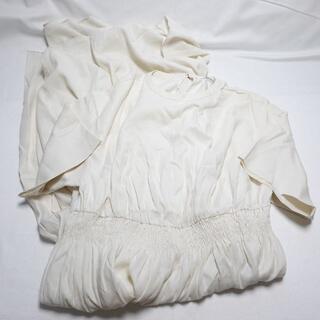 ☆ebure☆白のワンピース♪レディースМサイズ(ひざ丈ワンピース)