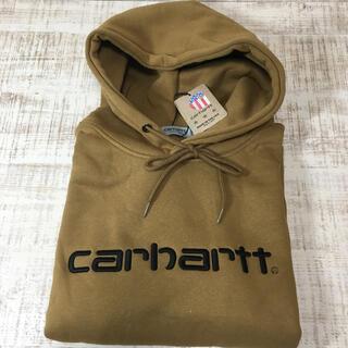 カーハート(carhartt)のカーハート  パーカー CARHARTT ブラウン Mサイズ(パーカー)