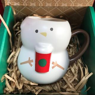 スターバックスコーヒー(Starbucks Coffee)のスターバックス✨ホリデー2018マグスノーボーイ(グラス/カップ)