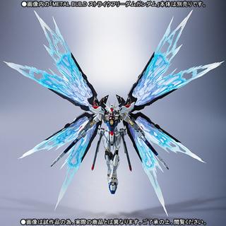 BANDAI - METAL BUILD ストライクフリーダムガンダム&光の翼オプションセット