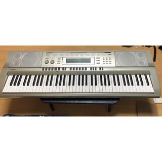カシオ(CASIO)の送料込み CASIO WK-200 キーボード 電子ピアノ(電子ピアノ)