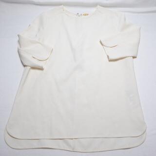 ☆ドゥーズイエムクラス☆白のトップス♪レディース(シャツ/ブラウス(半袖/袖なし))