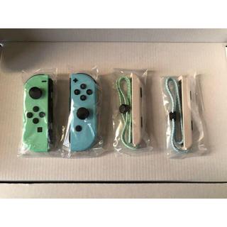 Nintendo Switch - switch どうぶつの森 ジョイコン Joy-Con